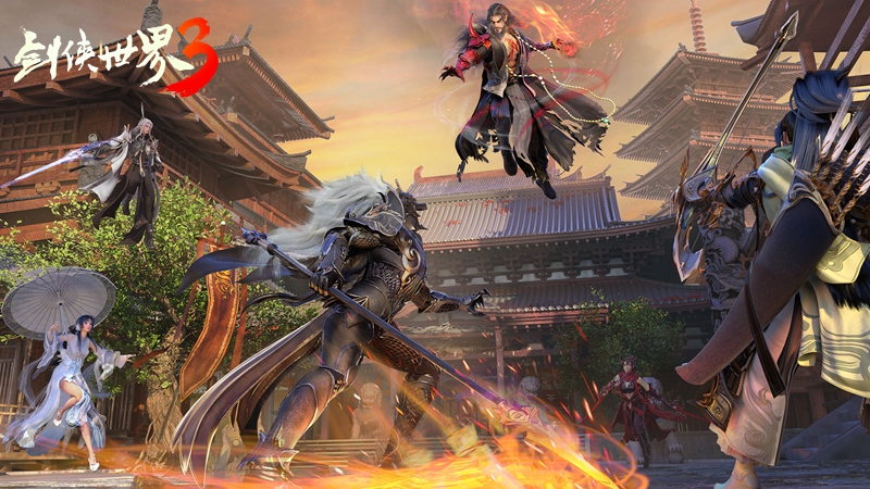 《剑侠世界3》玩法升级:剑侠情缘系列正统续作来了!
